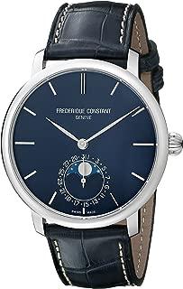 Frederique Constant Men's FC705N4S6 Slim Line Stainless Steel Watch
