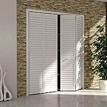 Bi-fold Closet Door, Louver Louver Plantation White (24x80)