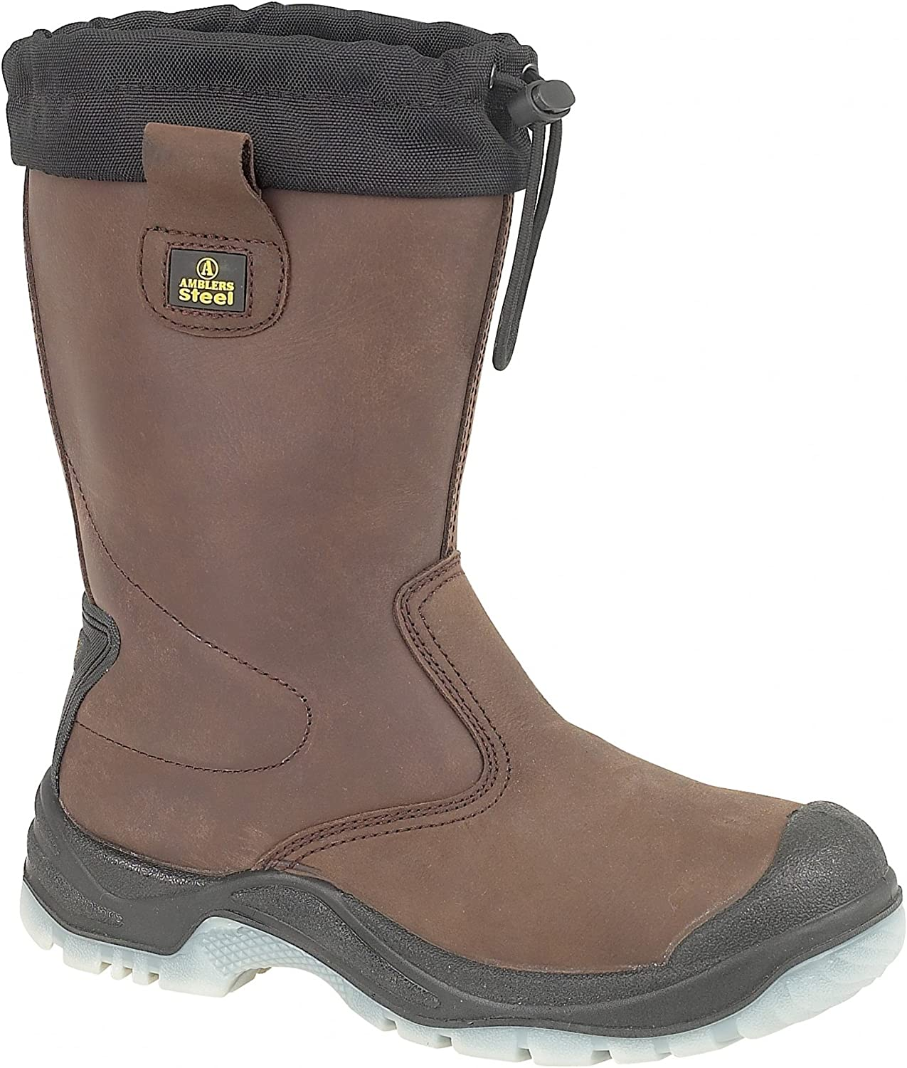 Amblers Steel FS219 Safety Pull On Mens Boots Riggers Safety