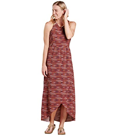 Toad&Co Sunkissed Maxi Dress (Raisin Blanket Print) Women