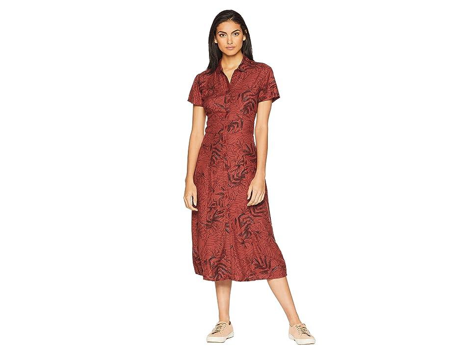 RVCA Caper Dress (Henna) Women