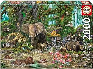 Educa African Jungle Puzzle, 2,000-Piece
