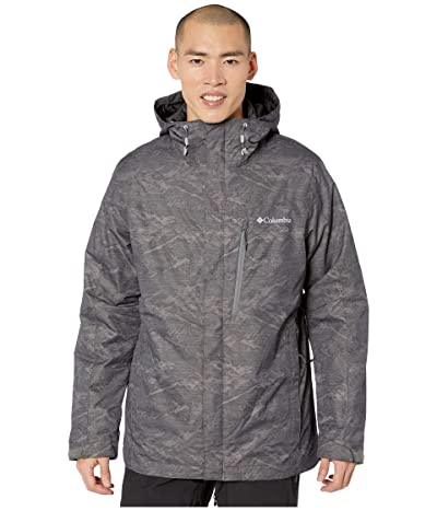 Columbia Whirlibirdtm IV Interchange Jacket (City Grey Mountains Jacquard Print) Men