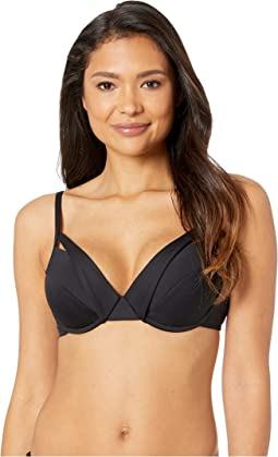 Island Goddess Underwire Push-Up Bra Top