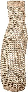 "Bloomingville Decorative 34.75"" Handwoven Natural Seagrass Vase Basket, Beige"