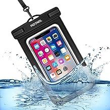 HOOMIL wasserdichte Handyhülle, Universal Wasserfeste Handytasche IPX8 Unterwasser Handy..