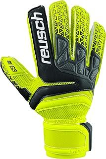 Reusch Soccer Prisma Prime G3 Finger Support Goalkeeper Gloves Yellow/Black
