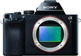 Sony Alpha ILCE-7 - Cámara Evil de 24.3 MP Full HD sólo Cuerpo Negro