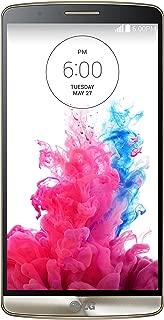 LG Electronics LG-D855-G3-32GB Unlocked Cell Phone - Retail Packaging - Black Gold - (International Version no warranty)