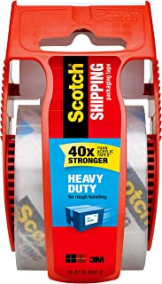 Scotch(R) Packaging Tape, 1.88 x 800 Inch, 6-Pack (341)