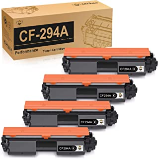 CMYBabee Compatible Toner Cartridge Replacement for HP 94A CF294A for use with HP Laserjet Pro M118dw MFP M148dw MFP M148fdw Printer (Black, 4-Pack)