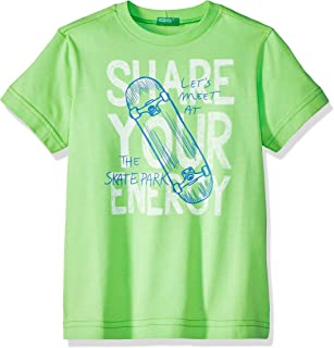 8f1a8c75b8d3c UNITED COLORS OF BENETTON T- Shirt Pull sans Manche Garçon