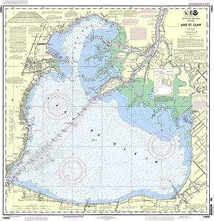 NOAA Chart 14850: Lake St. Clair