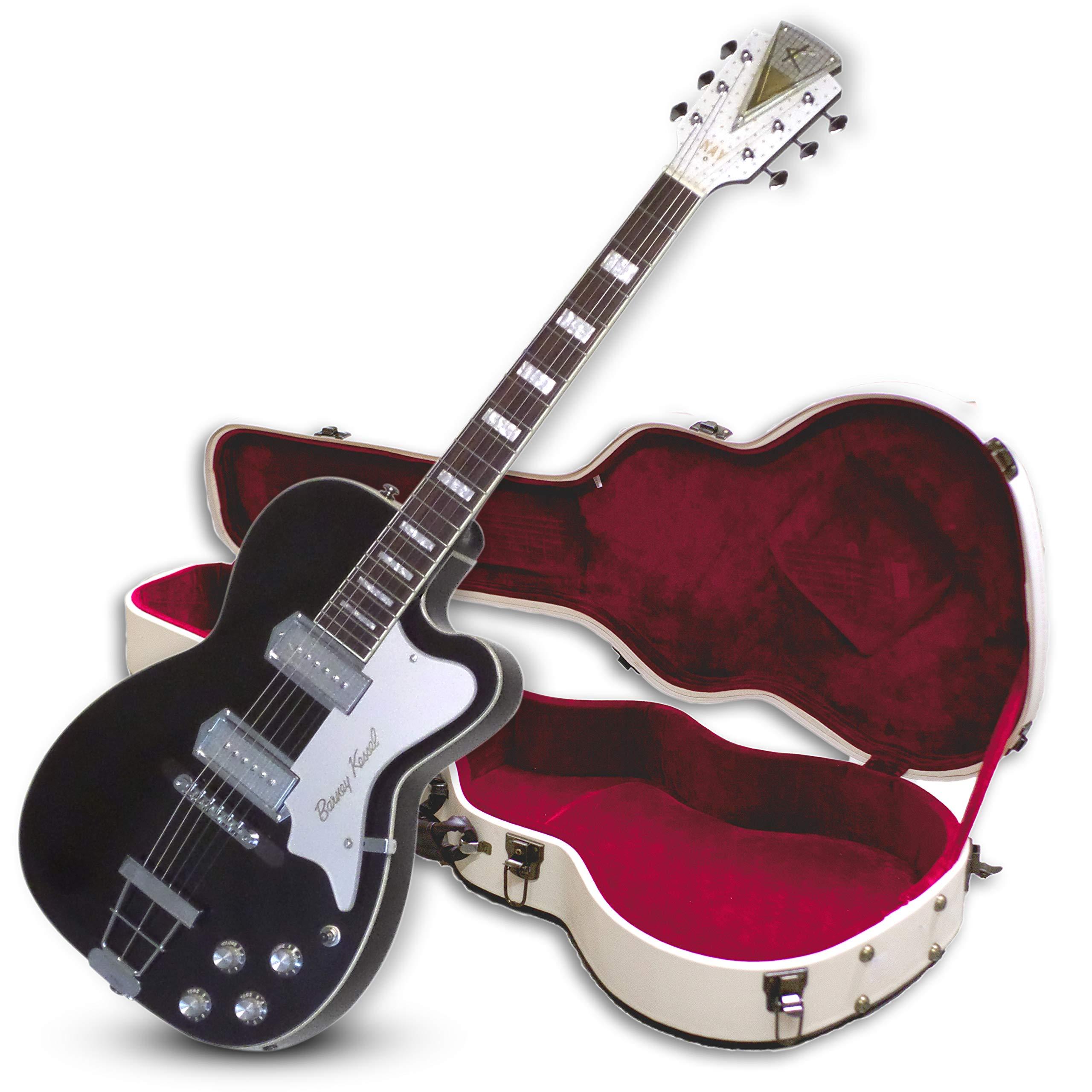 Guitarra eléctrica de cuerpo hueco de 6 cuerdas, derecha (B1 ...
