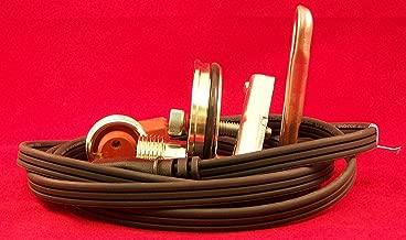 Case 580E Cummins Diesel Block Heater 4-390 4T-390 4TA-390 6-590 6T-590 (4&6cyl) (58mm, Chrome)
