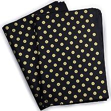 "30 Sheets Black Gold Polka Dot Tissue Paper Bulk,20"" x 28"",Gift Wrapping Tissue Paper,Black Tissue Paper for Gift Bags,DIY..."