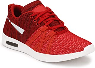 Oladin Unisex Running Shoes Sneakers Colour Black/Red/Blue