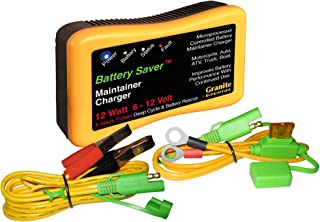 Battery Saver 1200 12W Pulse Battery Maintainer/Charger with Battery Rescue