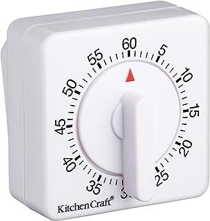 KitchenCraft Wind-Up Mechanical 1-Hour Kitchen Timer