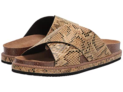 Free People Sidelines Footbed (Taupe) Women