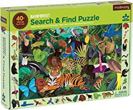 Rainforest Search & Find Puzzle