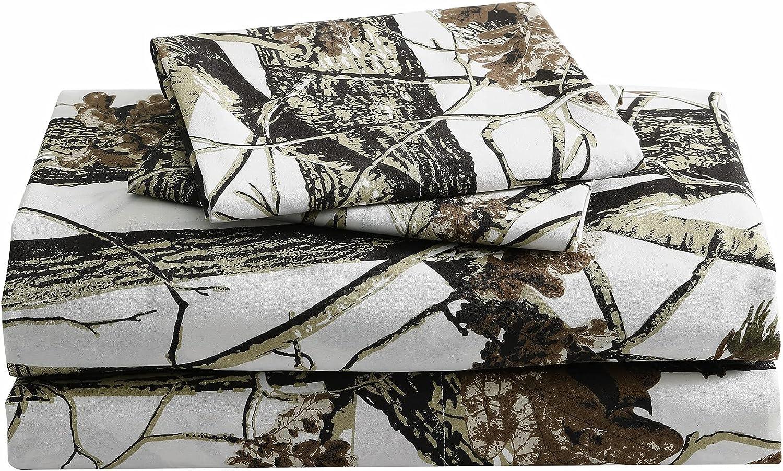 Chezmoi Collection Salem 4-Piece Forest cheap - Set Sheet 40% OFF Cheap Sale Nature Woods