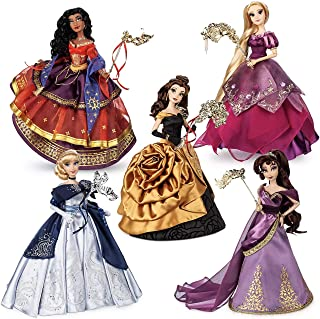 Midnight Masquerade Series Disney Designer Collection Limited Edition Doll Set - All 5 Dolls