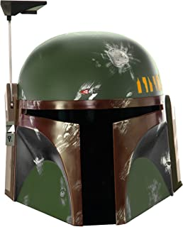 Collector One-Piece Boba Fett Helmet Costume Accessory