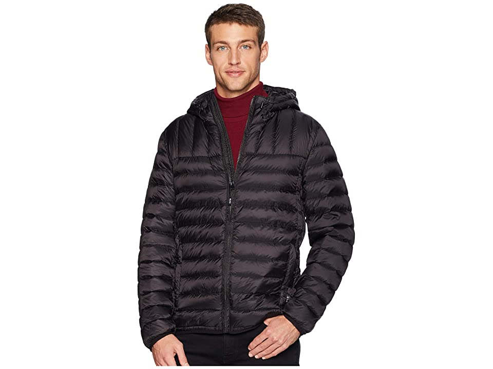 Tumi Crossover Pax Hooded Jacket (Black) Men