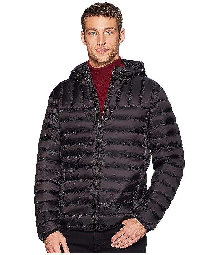 Tumi Crossover TUMIPAX Hooded Jacket (Black) Men