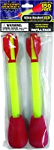 Stomp Rocket Ultra Rocket LED Refill Pack, 2 Rockets for Rocket Launcher- Outdoor Rocket Toy Gift for Boys and Girls - Ages 5 Years and Up