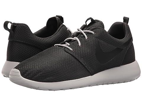 Nike Roshe Courir Chambre Hommes En Noir Et Blanc