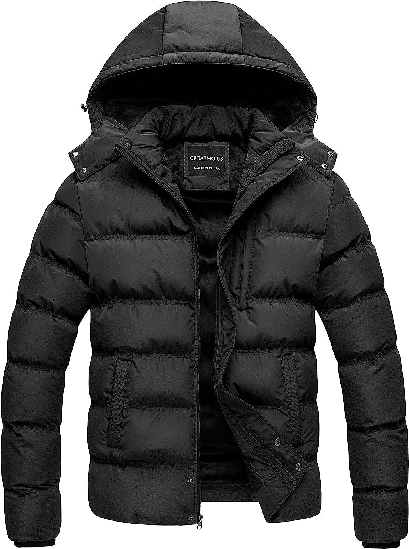 Men's Puffer Jacket Waterproof Winter Parka jacket Warm Thicken Ski Coat