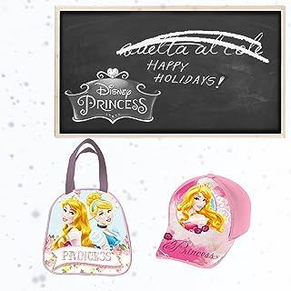 Princesas Disney PK1068 2018 Mochila Infantil, 20 cm, Rosa