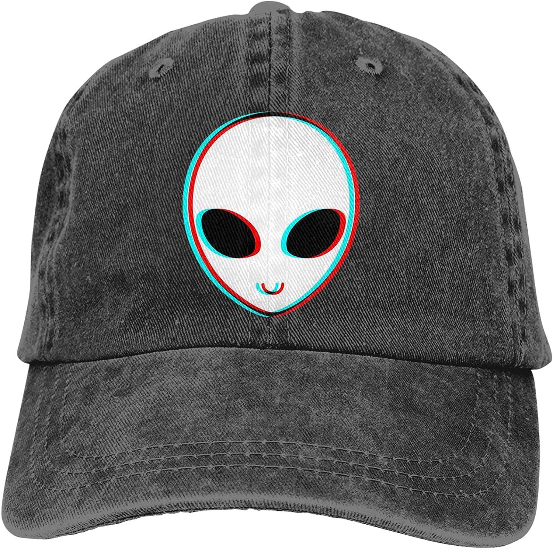 NC Trip-py Alien Trucks Cotton Hat Cowboy Hat Baseball Caps Black