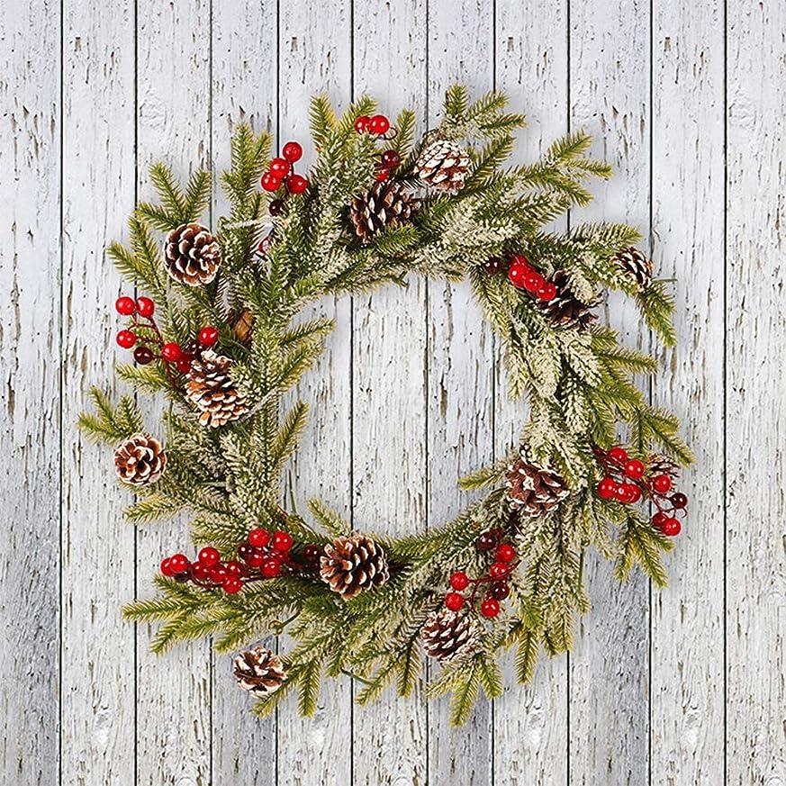 インキュバスリンスかどうかDaimai クリスマスリース クリスマスペンダント PEマツ  壁掛け 玄関飾り ドア 華やか ゴージャス かわいい 松ぼっくり 木の実 クリスマス 飾り プレゼント ギフト 贈り物 店舗装飾 X'mas サンタ 玄関リース  円錐形 赤いフルーツリース クリスマスホワイトガーランド メリー クリスマス  可愛い 冬新作 クリスマス リース 人気 豪華 開店祝い 新築祝い 内祝い 開業祝い Xmas クリスマス 飾り インテリア 玄関 ドア 飾り アクセサリー プレゼント ギフト 贈り物 にも フロストフロッキングペンダント 40cm
