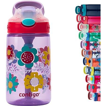 Contigo Kids Water Bottle Gizmo Autospout, Drinks bottle with Straw, BPA-free water bottle, leak-proof, ideal for kindergarten, school and sports, 420 ml