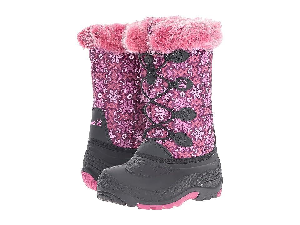 Kamik Kids Snowgypsy 2 (Toddler/Little Kid/Big Kid) (Plum/Magenta) Girls Shoes