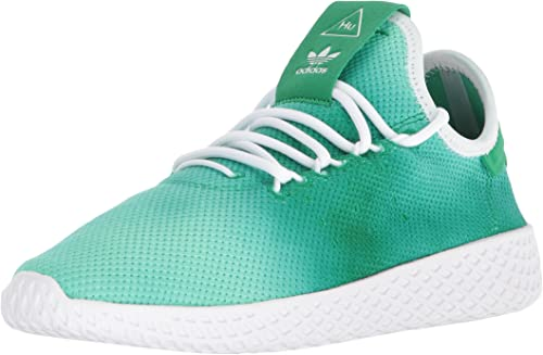 Adidas Unisex-Kids PW Tennis HU J baskets,vert, ftwr blanc, ftwr blanc,6 Medium US Big Kid