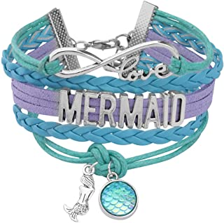largerstackable mermaid goddess bracelet