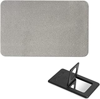 SHARPAL 114N Credit Card Size Diamond Sharpening Stone, Pocket Diamond Knife and Tool Sharpener (Fine 600 Grit)
