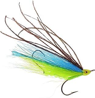 Dorado 4-Inch Pro Grade McFly Fly Fishing Lure | Deceiver Streamer Bucktail Clouser Wet Freshwater Saltwater | Pike Bass Perch Walleye Salmon Trout Dorado Tarpin Bonefish