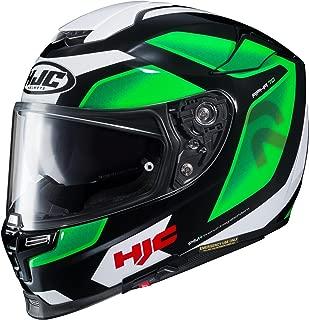 HJC XF-10-0804-1204-06 RPHA 70 ST Grandal Helmet, Distinct Name: MC-4, Gender: Mens/Unisex, Helmet Category: Street, Helmet Type: Full-face Helmets, Primary Color: Green, Size: Lg