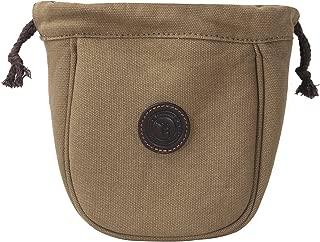 TOURBON Canvas Skeet Trap Shooting Pouch Shotshell Holder Ammunition Carrier Cartridge Ammo Bag