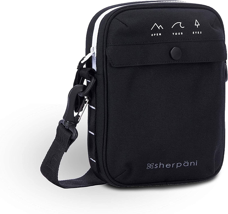 Sherpani Suki, Crossbody Purse with Mini Coin Purse, Nylon Crossbody Bag, Small Shoulder Bag, Cross Body Bag, Purse for Women