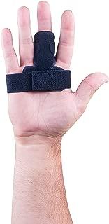 MedicHelp The Original Adjustable Trigger Finger Splint with Innovative Foam Black | Designed in The UK