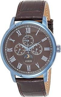 ساعة جيس للرجال، عرض انالوج، سوار جلد W0870G3