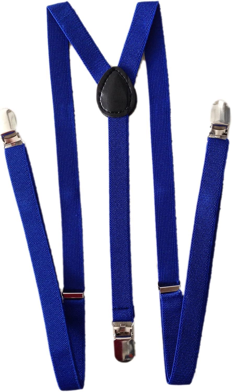 YueLian Kids Babies Adjustable Clip-on Suspenders