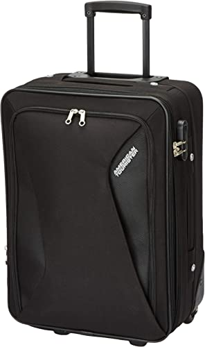 American tourister Columbia Polyester 21.7 Inch Black Travel Bag (AMT Columbia UR 55cm Black)