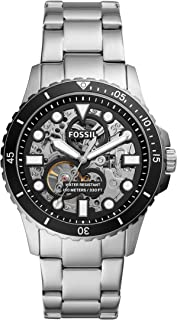 Fossil Men's FB - 01 Automatic Three-Hand, Stainless Steel Watch, ME3190